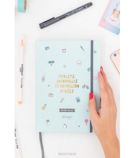 Agenda bullet - Projets, gribouillis et un million - Mr Wonderful