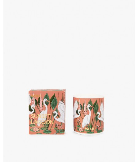 Bougie parfumée Sunset Lagoon Candles Burning time 45h - Wouf