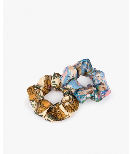 Chouchous Delhi & Lazy Jungle Scrunchies - Wouf