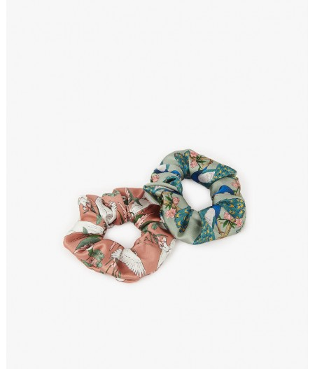 Chouchous Royal Forest & Sunset Lagoon Scrunchies - Wouf