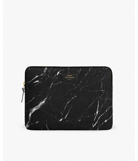 """Housse ordinateur 13"""" Black Marble 13"""" - Wouf"""
