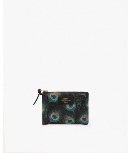 Petite pochette Peacock Small Pouch - Wouf