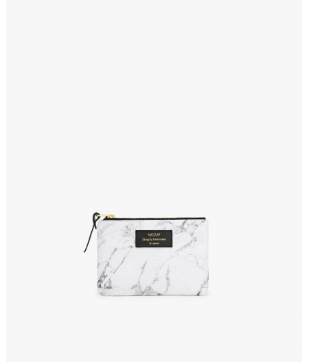 Petite pochette White Marble Small Pouch - Wouf