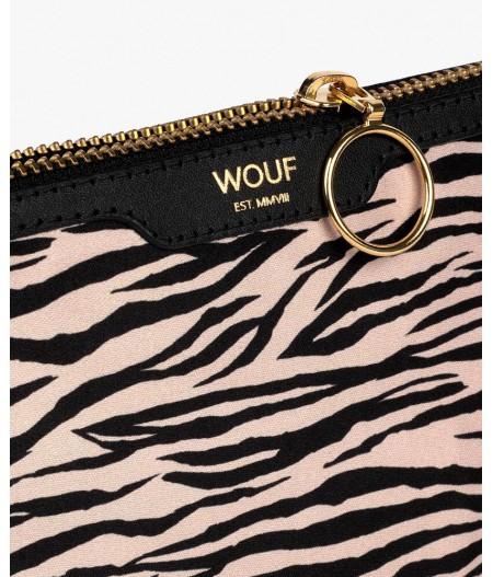 Petite pochette soirée Soft Tiger Pocket Clutch - Wouf