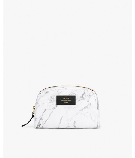 Trousse toilette White Marble Big Beauty - Wouf
