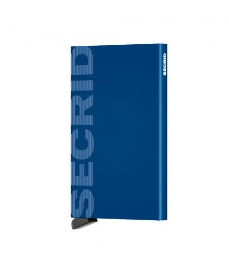 Card Protector Laser  Secrid - CLa-Logo Blue