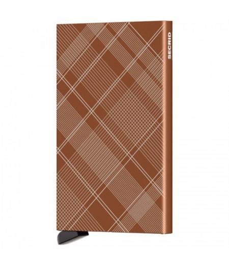 Cardprotector Secrid - CLa-Tartan Rust