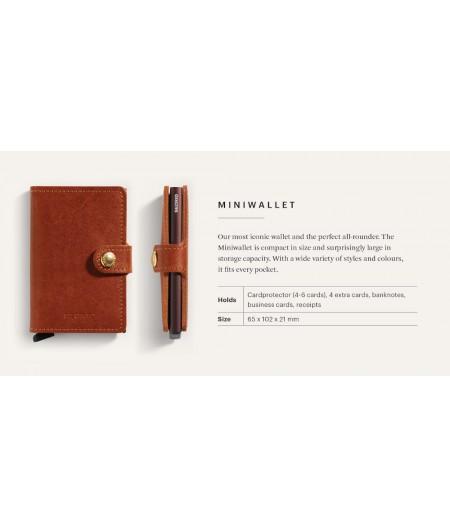 Miniwallet Secrid - Indigo MIn-5