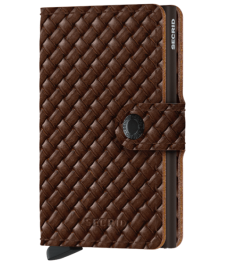 Miniwallet Secrid-  Basket Brown - MBa-Brown