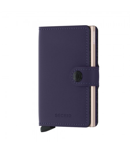 Miniwallet Secrid - Matte Purple-Rose - MM-Purple-Rose