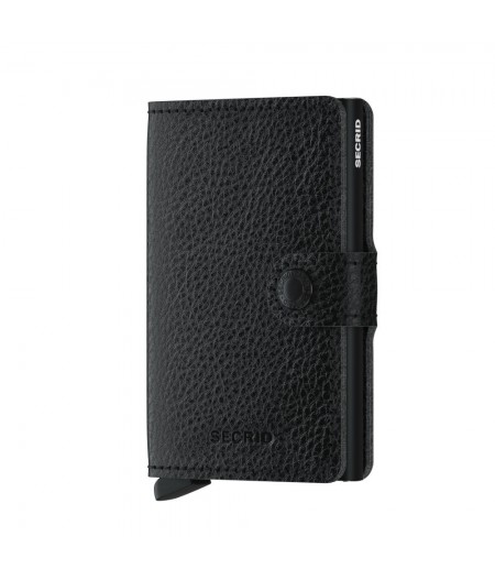Miniwallet Secrid - Vegetable Tanned Black-Black - MVg-Black-Black