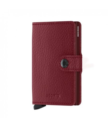 Miniwallet Secrid - Vegetable Tanned Rosso-Bordeaux - MVg-Rosso-Bordeaux