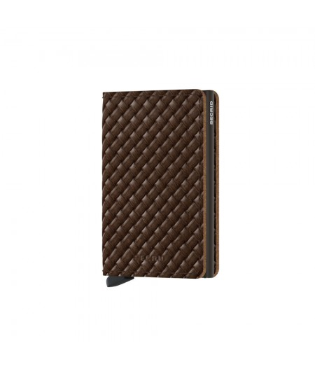 Slimwallet Secrid - Basket Brown SBa-Brown
