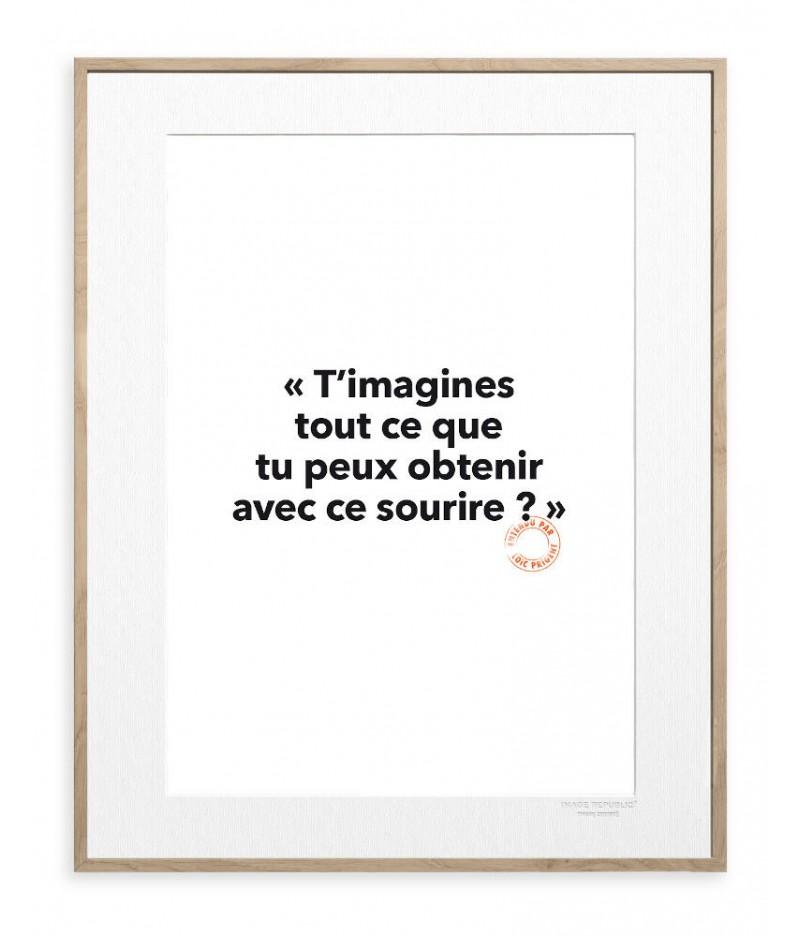 30x40 Cm Loic Prigent 104 T'imagines - Image Republic