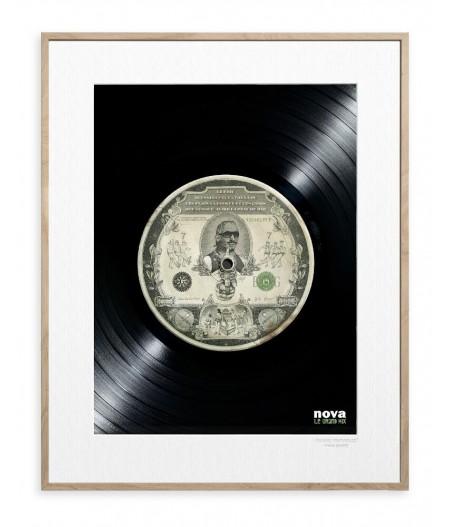 30x40 cm ADV Nova Rap - Affiche Image Republic