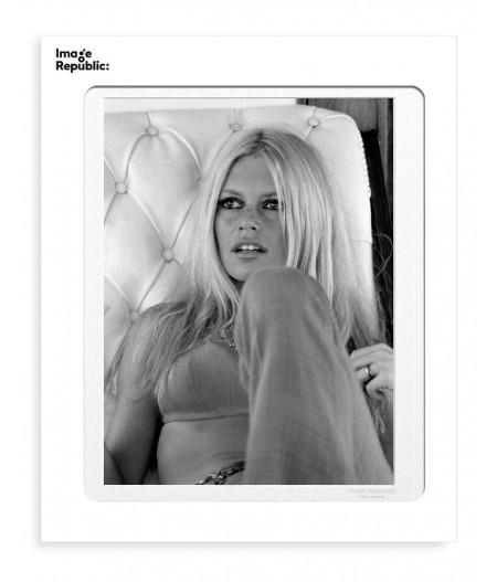 40x50 cm La Galerie Bardot Fauteuil - Affiche Image Republic