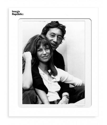 40x50 cm La Galerie Birkin Gainsbourg - Affiche Image Republic
