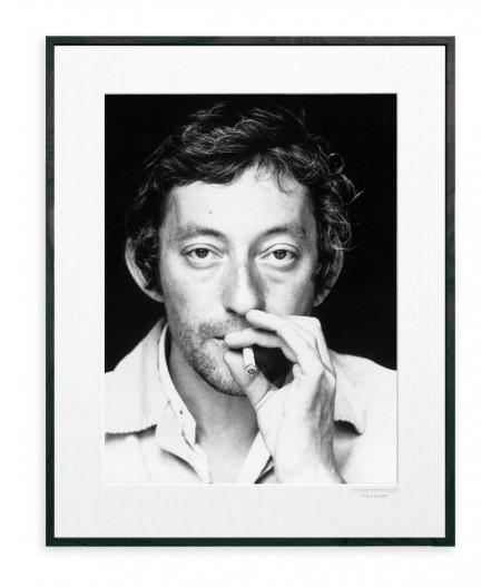 40x50 cm La Galerie Gainsbourg Portrait - Affiche Image Republic