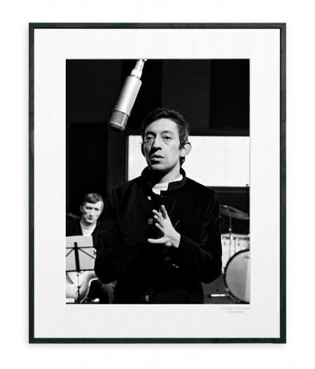 40x50 cm La Galerie Gainsbourg Studio - Affiche Image Republic