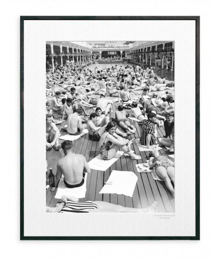 40x50 Cm La Galerie Piscine Deligny - Affiche Image Republic