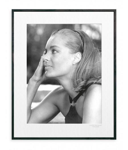 40x50 cm La Galerie Romy Schneider Bandeau - Affiche Image Republic