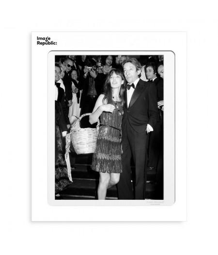 40x50 cm La Galerie Birkin Gainsbourg Escalier - Affiche Image Republic