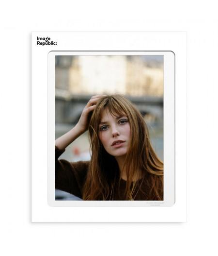 40x50 cm La Galerie Birkin Portrait - Affiche Image Republic