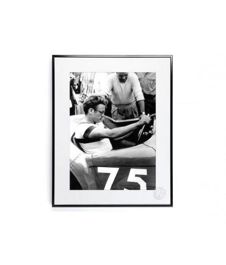 40x50 cm La Galerie James Dean Auto - Affiche Image Republic