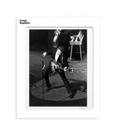 40x50 cm La Galerie Hallyday Olympia - Affiche Image Republic