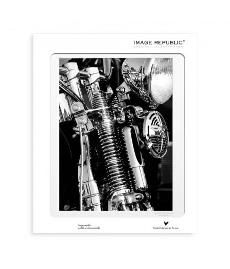 40x50 cm La Galerie Harley Phare - Affiche Image Republic