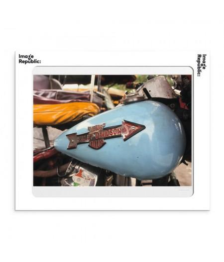 40x50 cm La Galerie Harley Davidson - Affiche Image Republic