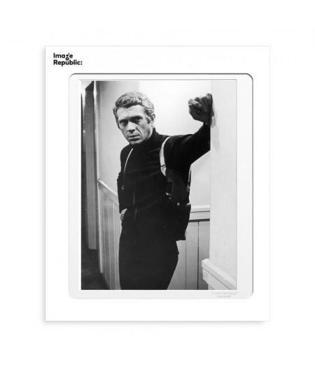 40x50 cm La Galerie Bullit Steve McQueen - Affiche Image Republic
