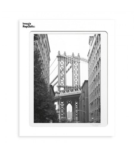 40x50 cm La Galerie NY Brooklyn Bridge - Affiche Image Republic
