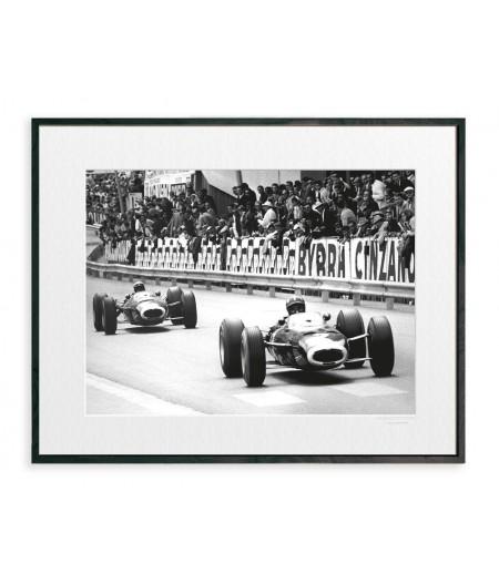 40x50 cm La Galerie Circuit auto - Affiche Image Republic