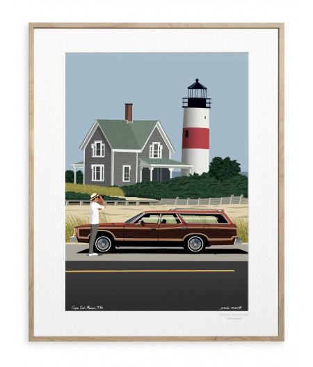 30x40 cm Paulo Mariotti Cape Cod - Affiche Image Republic