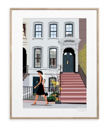 30x40 cm Paulo Mariotti New-York - Affiche Image Republic