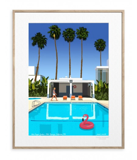 30x40 cm Paulo Mariotti Palm Springs- Affiche Image Republic