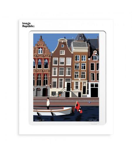 30x40 cm Paulo Mariotti Amsterdam - Affiche Image Republic