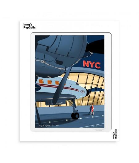 30x40 cm Paulo Mariotti JFK - Affiche Image Republic