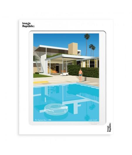 30x40 cm Paulo Mariotti The Kaufmann House - Affiche Image Republic