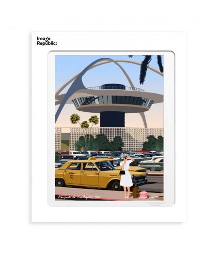 30x40 cm Paulo Mariotti Los Angeles - Affiche Image Republic
