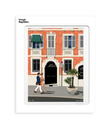 30x40 cm Paulo Mariotti Rome - Affiche Image Republic