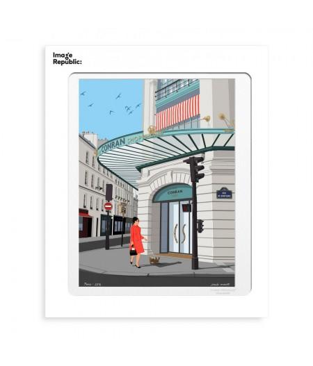 30x40 cm Paulo Mariotti Paris Babylone - Affiche Image Republic