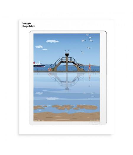 30x40 cm Paulo Mariotti Saint-Malo - Affiche Image Republic