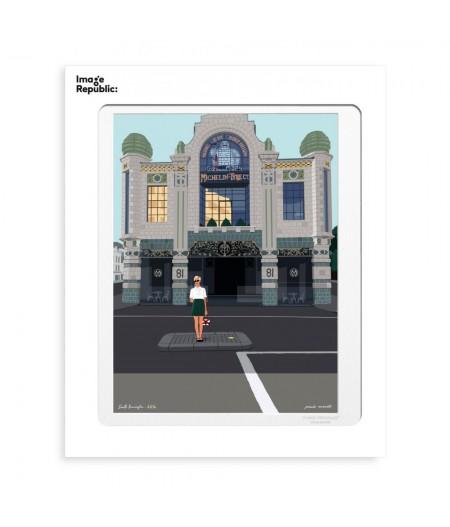 30x40 cm Paulo Mariotti South Kensington - Affiche Image Republic