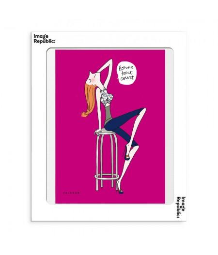 30x40 cm Soledad Bonne - Affiche Image Republic