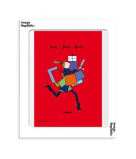30x40 cm Soledad Noel - Affiche Image Republic