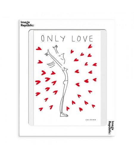 30x40 cm Soledad Only Love - Affiche Image Republic
