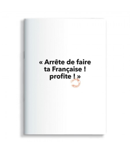 15x21 Cm Note Book Loic Prigent 11 Arrete De Faire - Image Republic