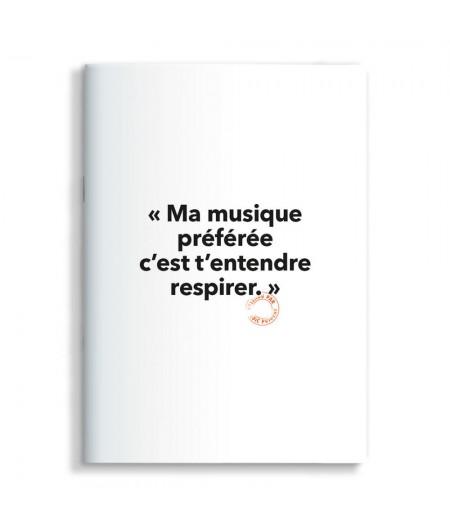 15x21 Cm Note Book Loic Prigent 48 Ma musique préférée - Image Republic